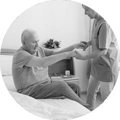 domácí ošetřovatelská péče