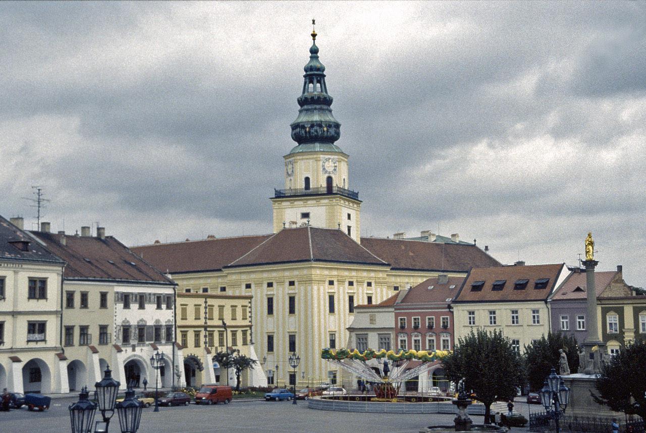 Stěhování v Kroměříži