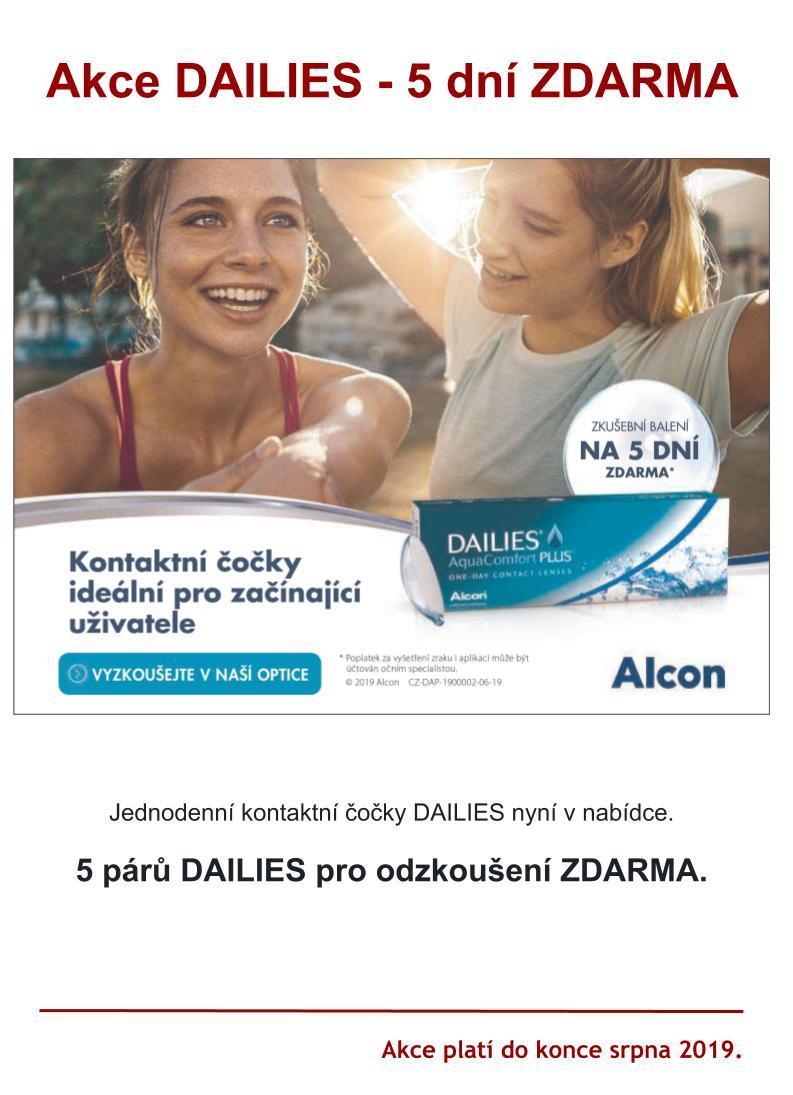 Hanel Optik - akce Alcon