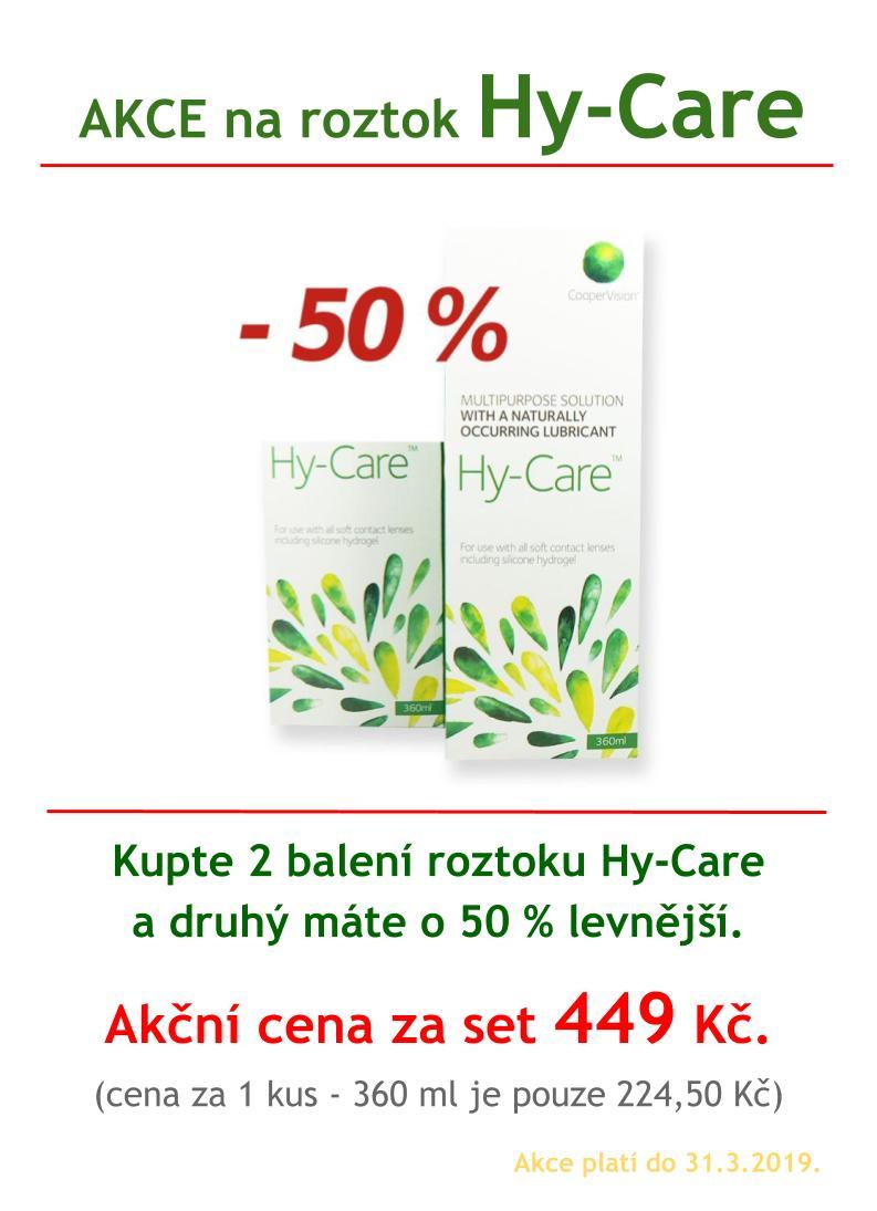 Hy-Care akce Hanel Optik