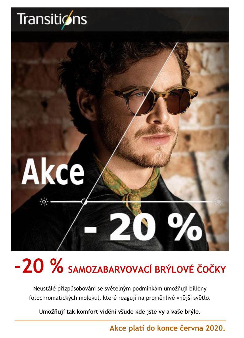 Akce HANEL OPTIK -20% Transitions