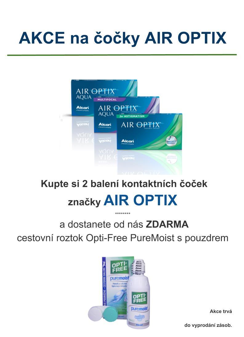 Akce na Air Optix