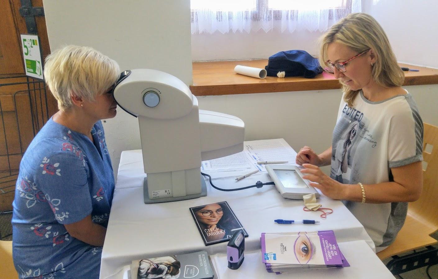 Hanel Optik - testování zraku v Chrudimi
