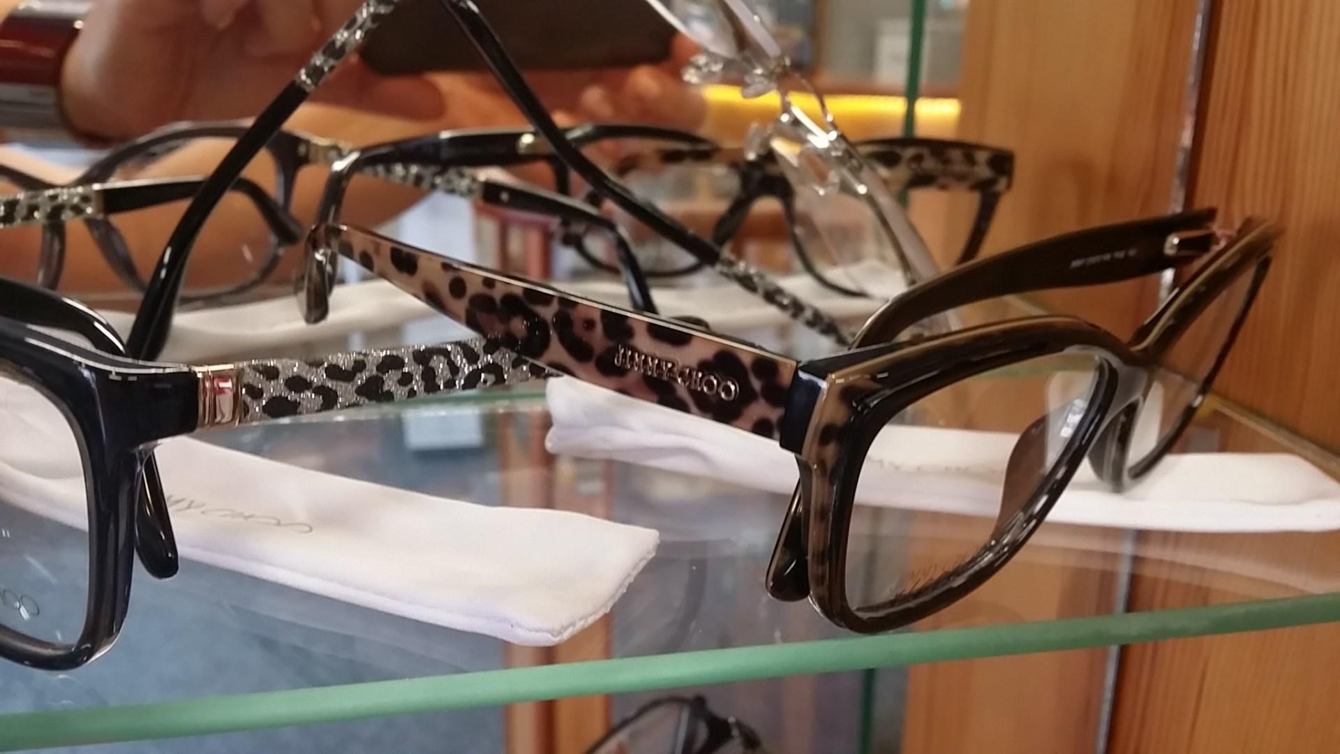 Brýle od anglického modního návrháře JIMMY CHOO