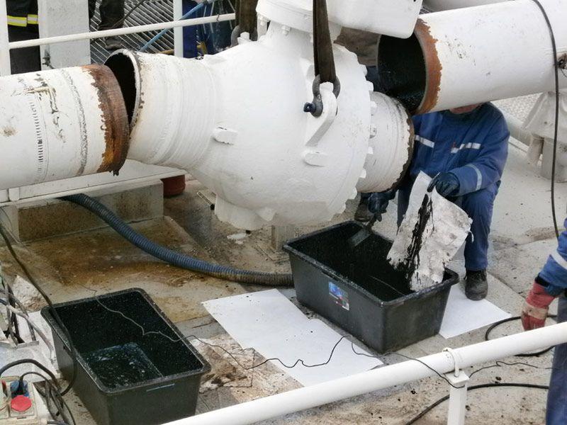výměny potrubních systémů a komponentů