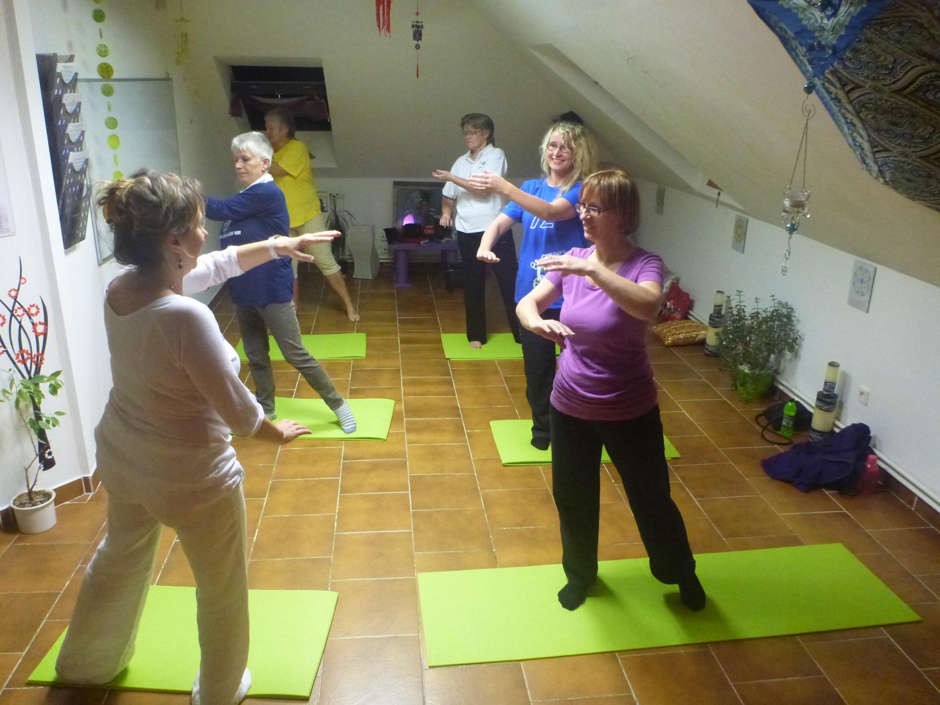 Dvouměsíční kurz léčivého cvičení