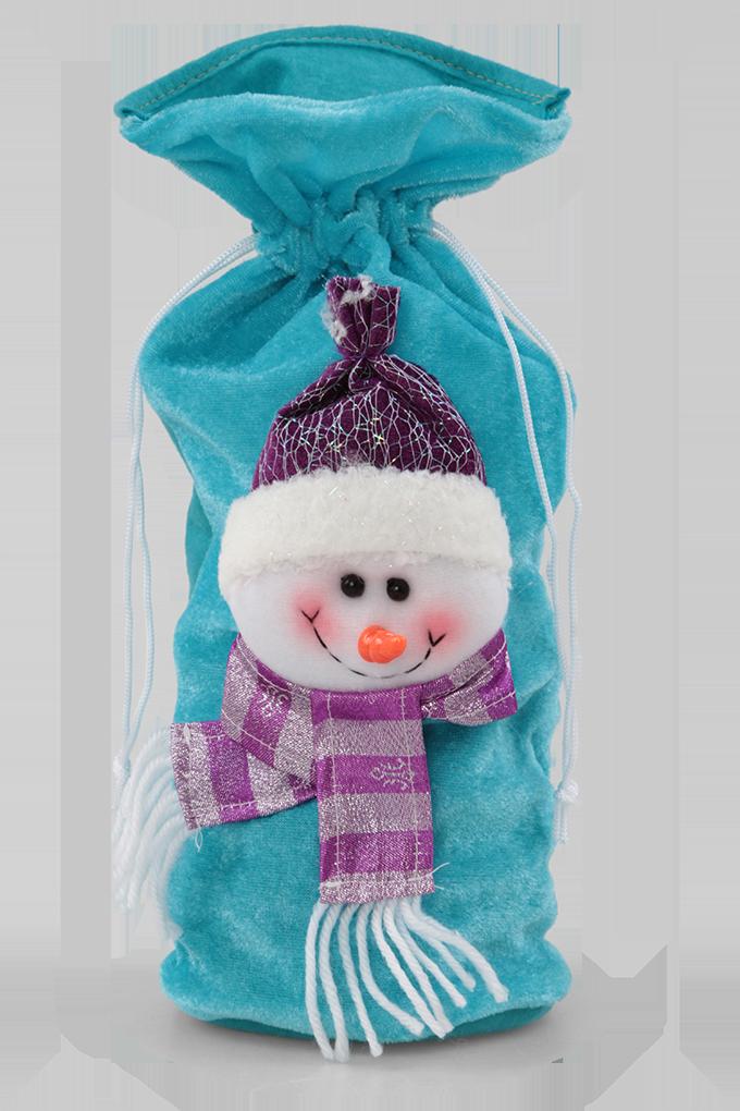 vánoční pytlík sněhulák