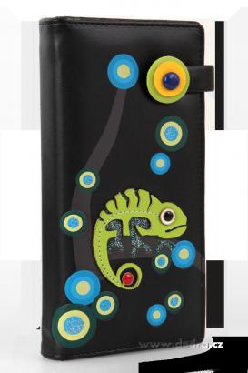 peněženka chameleon
