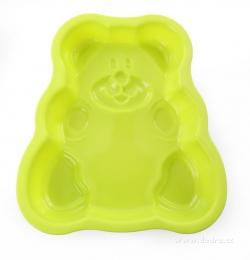 silikonová forma medvídek