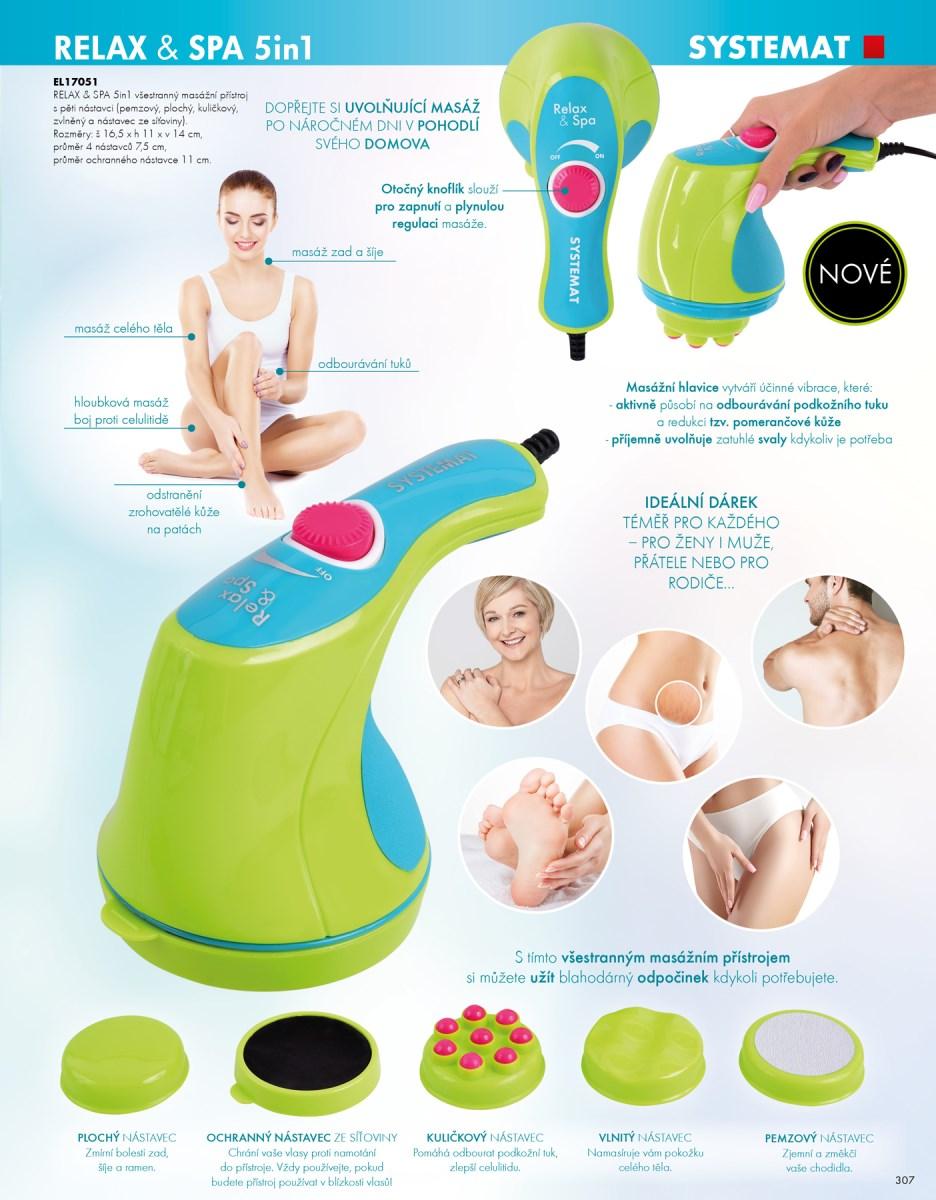 masážní přístroj systemat