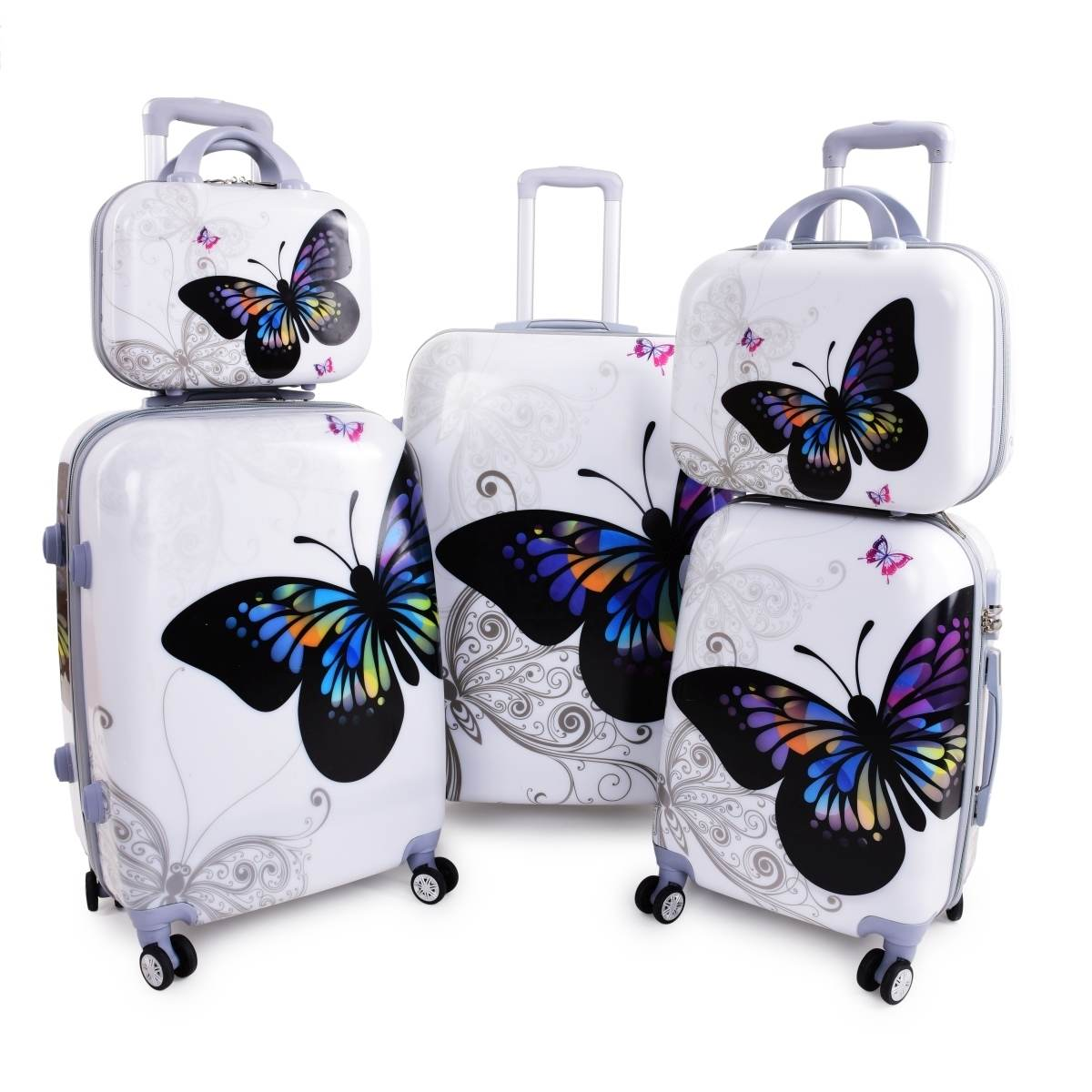 kufry dedra motýl