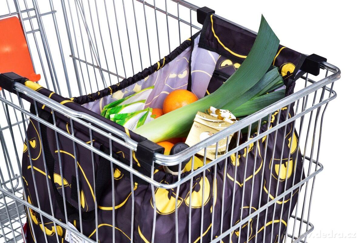 megataška do nákupního vozíku