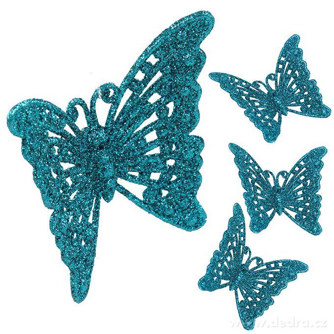 vánoční motýl