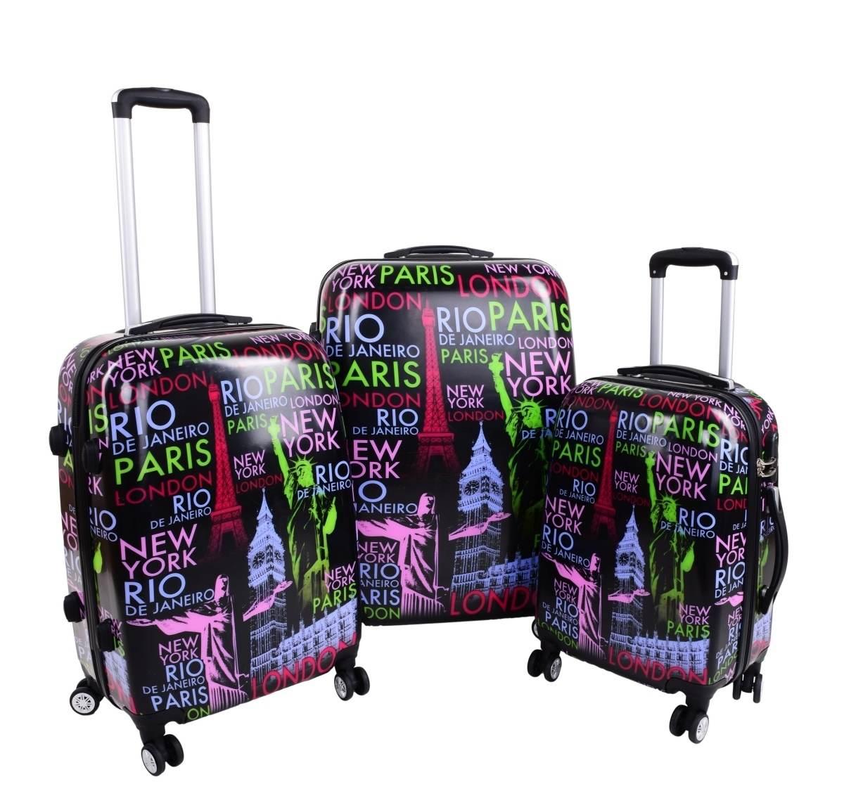 skořepinové kufry