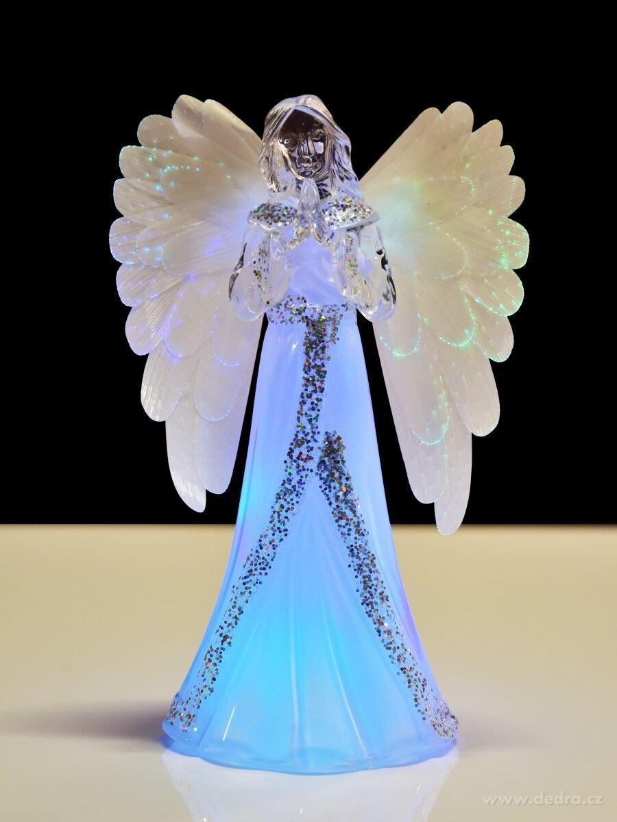 svítící anděl