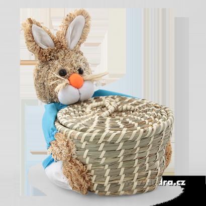 velikonoční zajíc ošatka