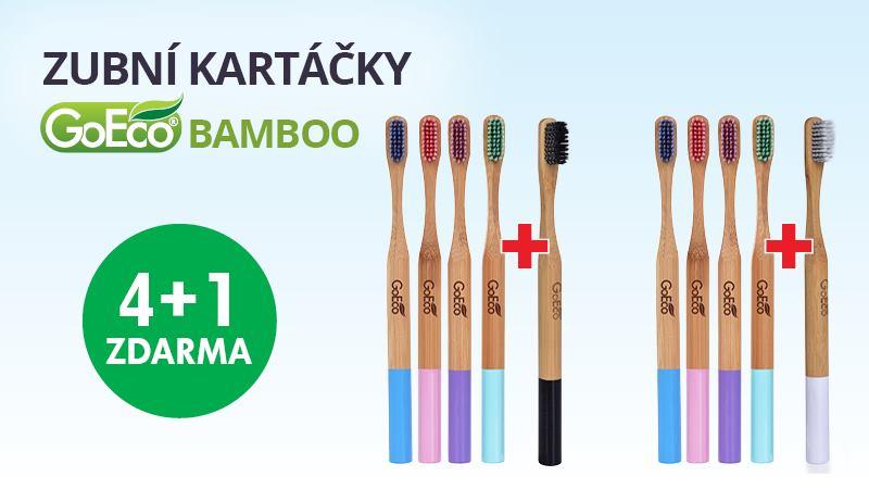 bambusové zubní kartáčky
