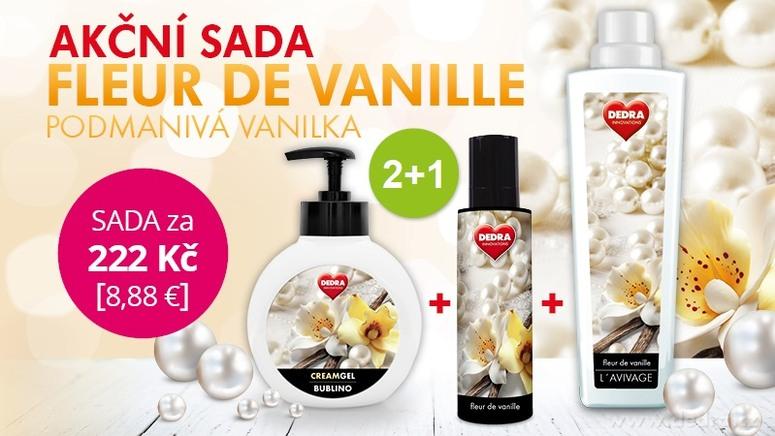 dedra vanilková sada