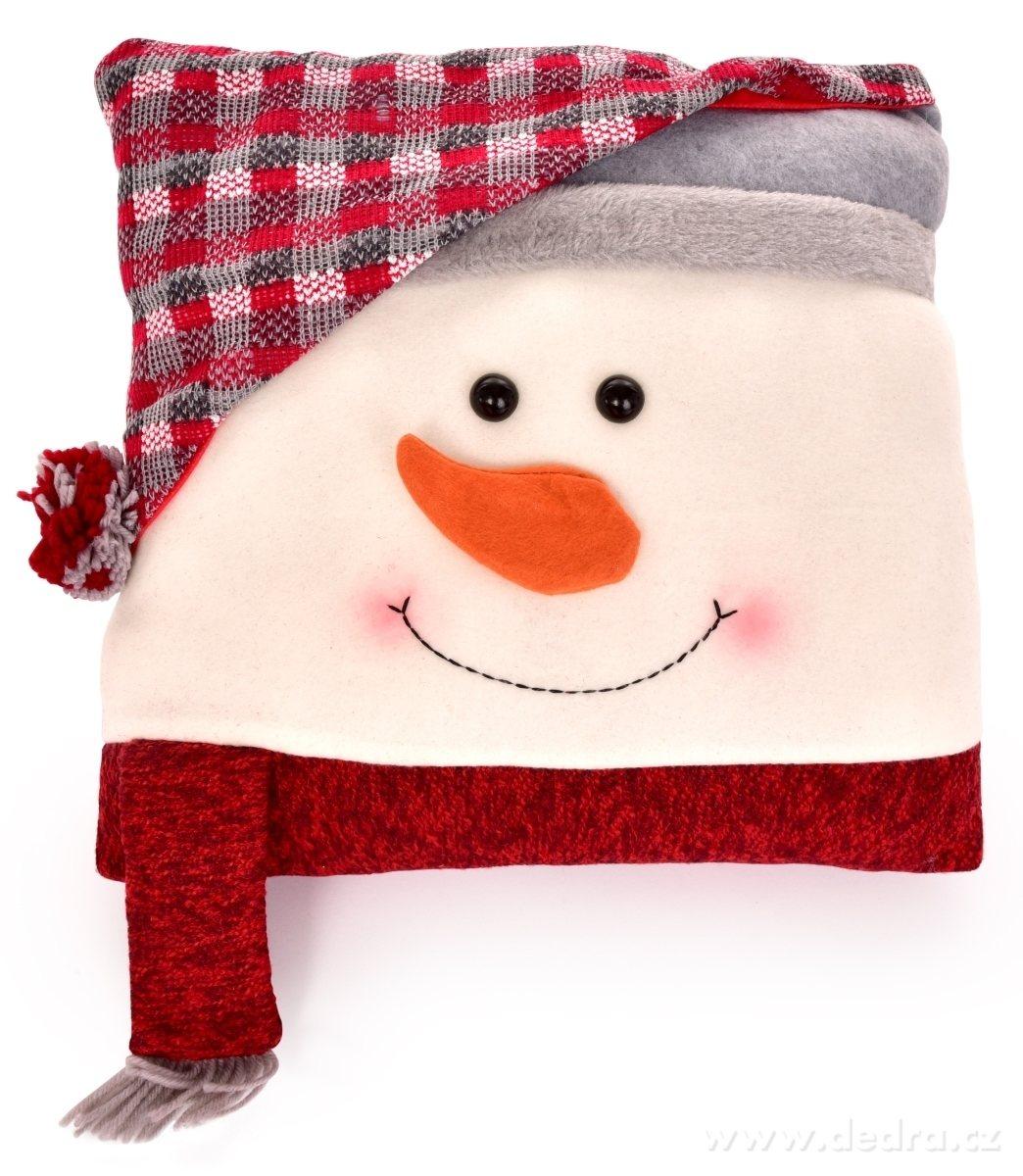dekorace sněhulák