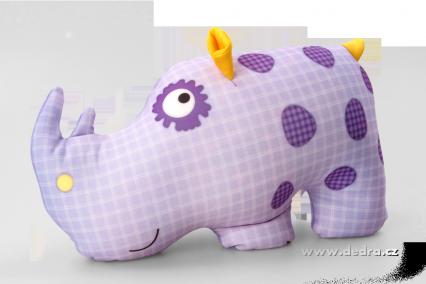 polštář nosorožec