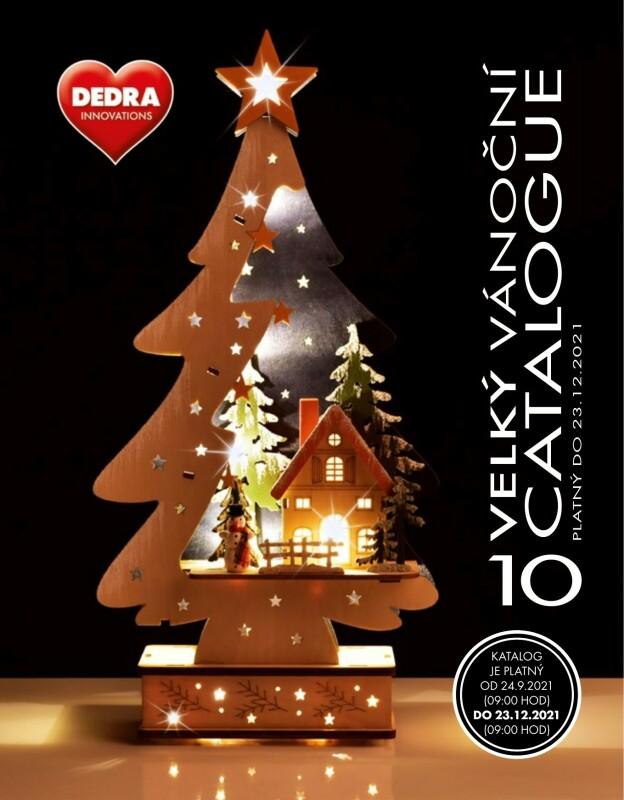 dedra vánoční katalog