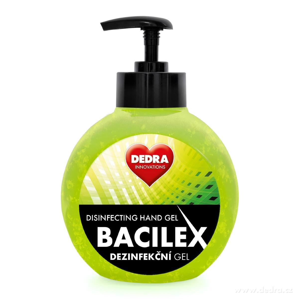 bacilex dezinfekční gel