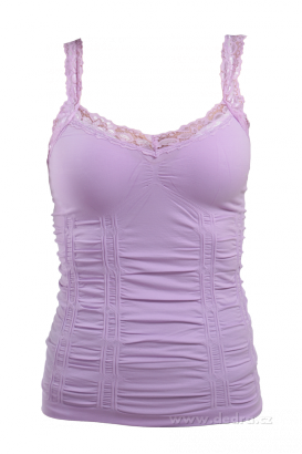 tílko top mauve