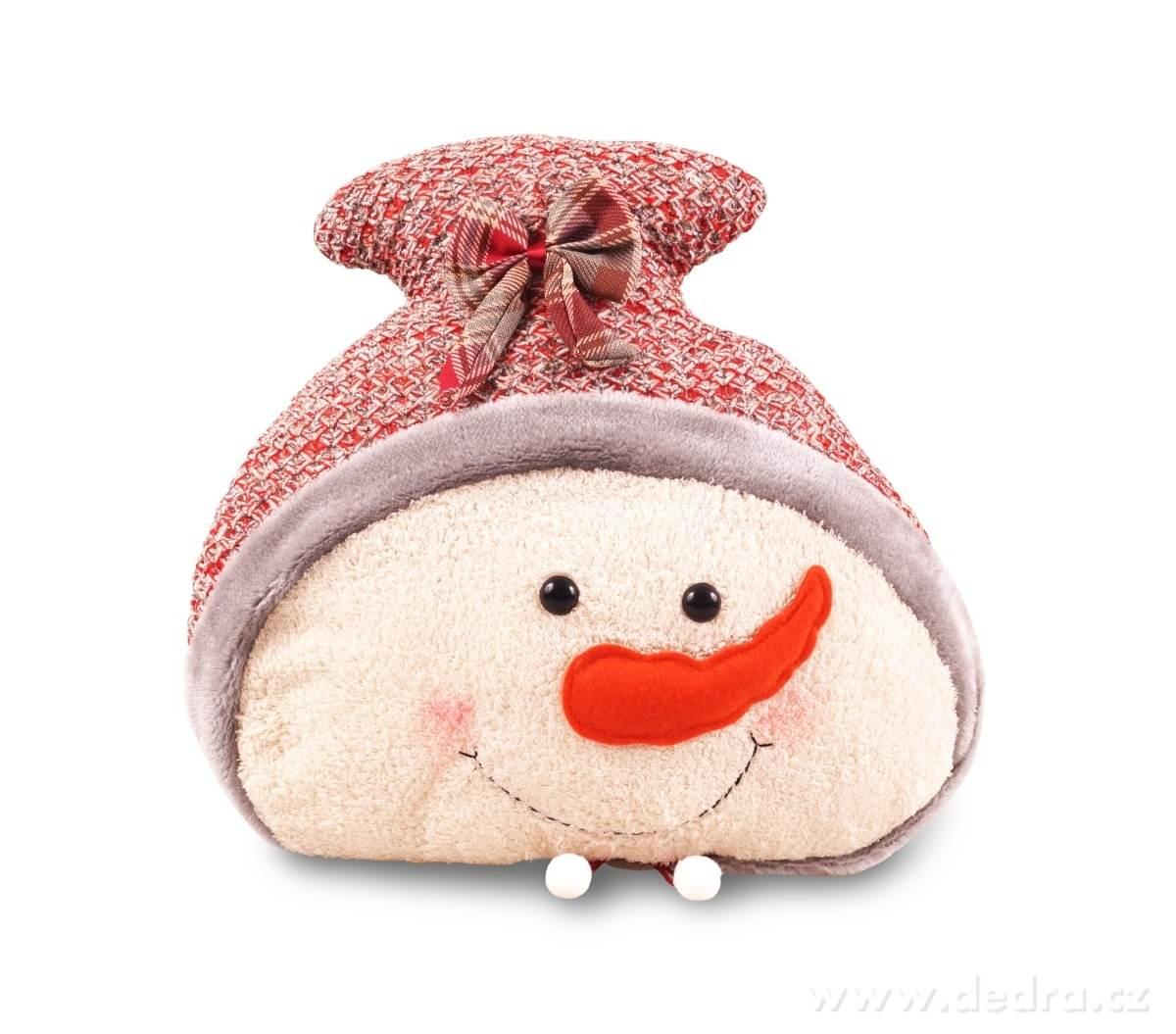 polštář sněhulák