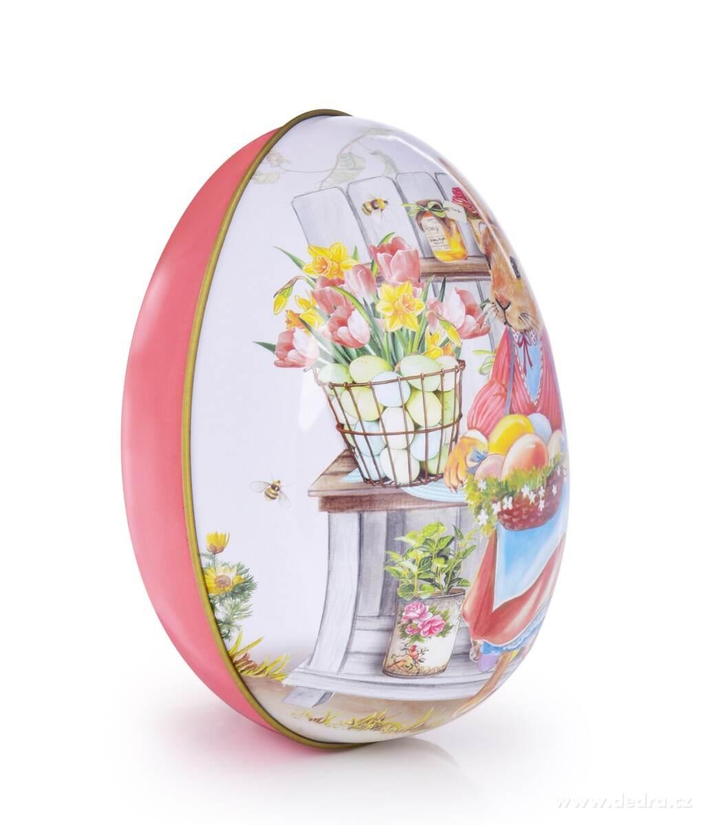 kovové vejce na koledu