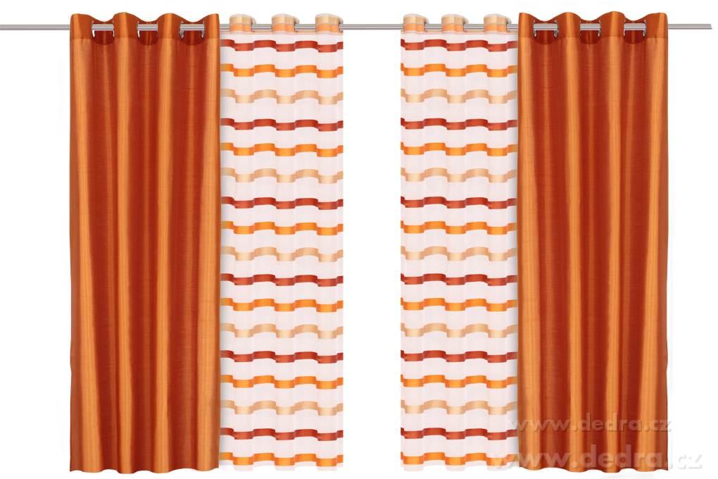 záclona závěs