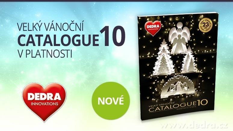 vánoční ozdoby katalog