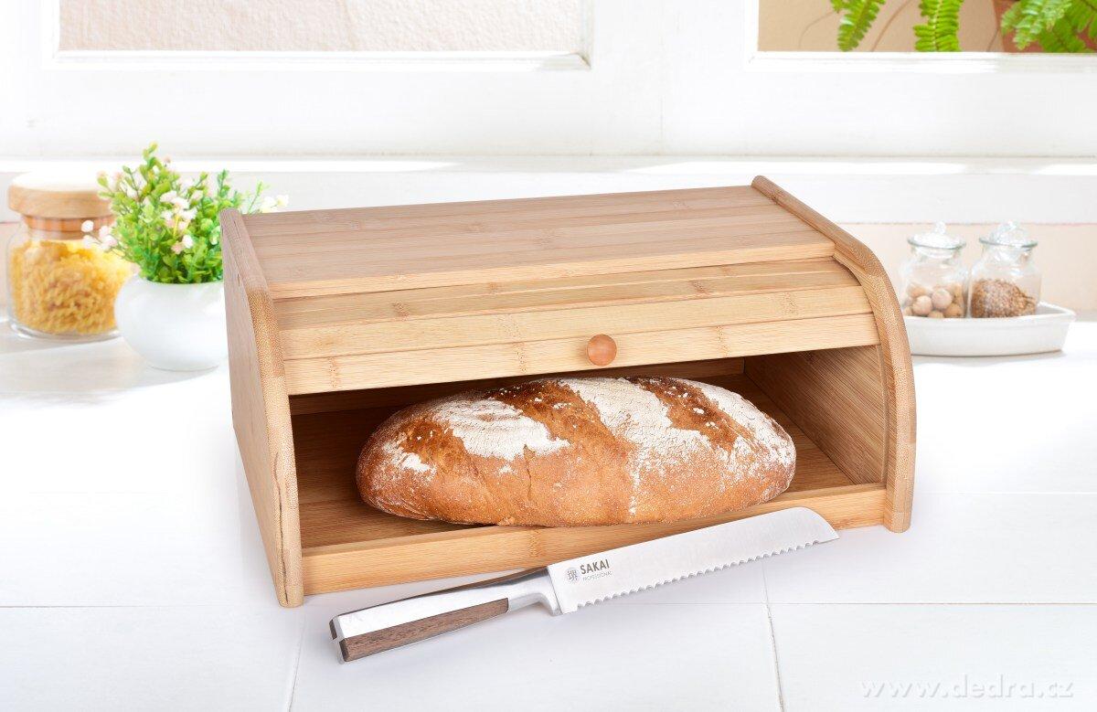 chlebník dřevěný
