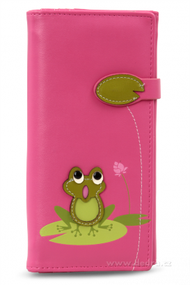 peněženka růžová