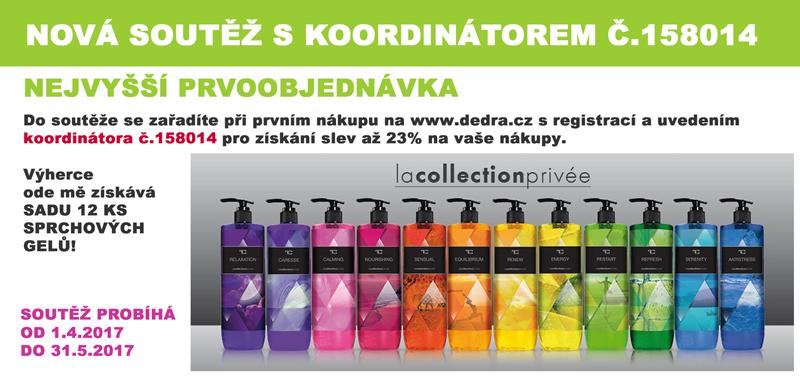 dedra.cz soutěž o sprchové gely