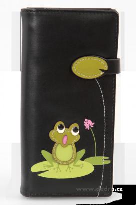 peněženka s žabkou