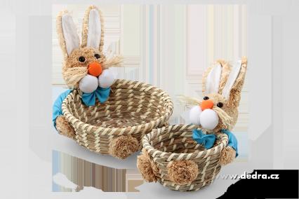 velikonoční zajíc ošatky
