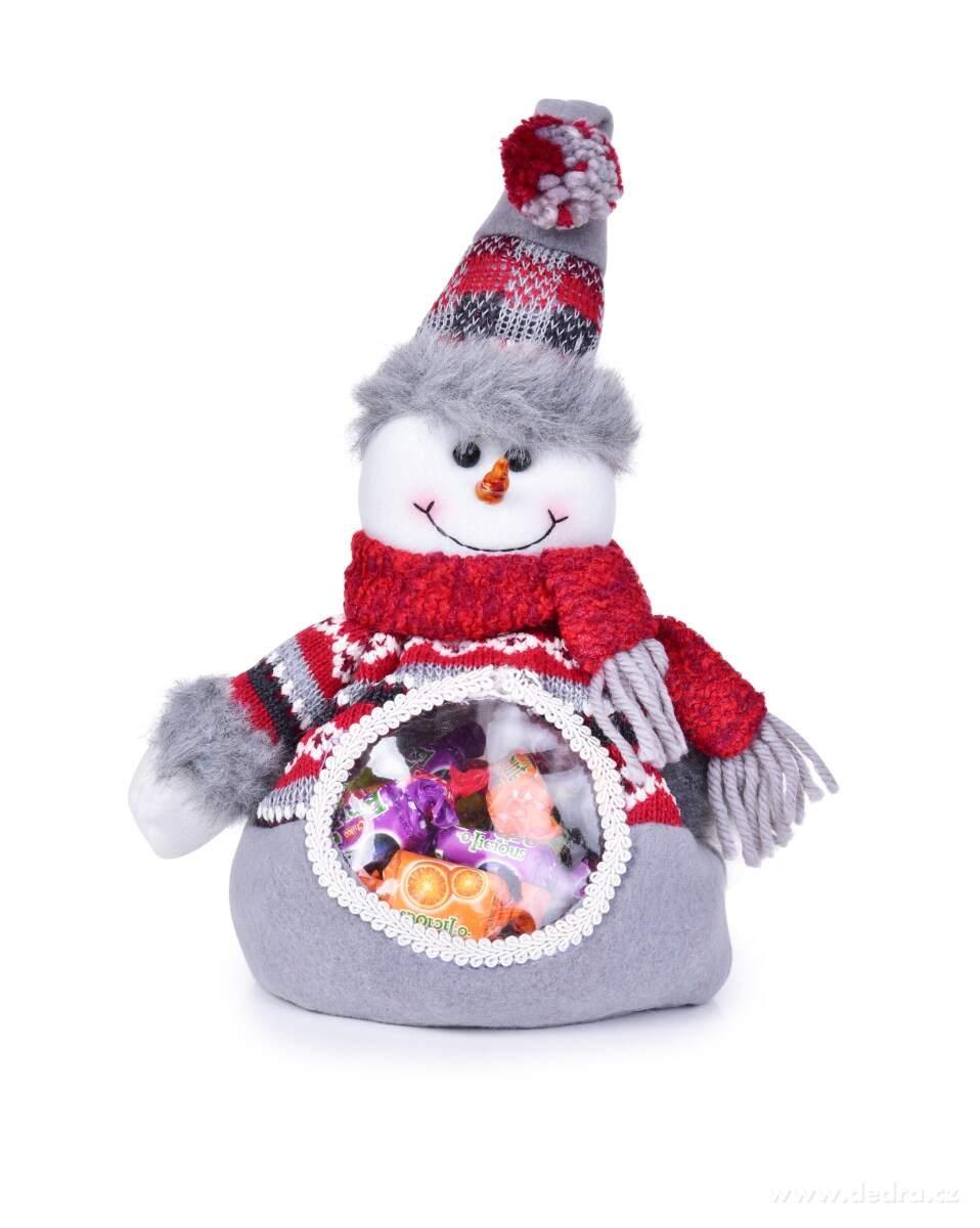 sněhulák na sladkosti